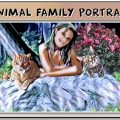Animal Family Portrait